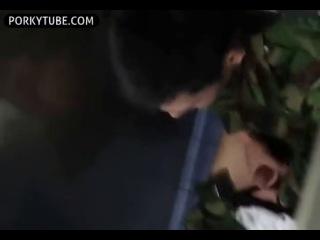 soldier caught masturbating