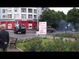 БТР в центре города Артемовск